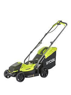 ryobi-olm1833b-18v-one-cordless-33cm-lawnmower-bare-tool