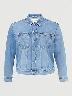 calvin-klein-jeans-plus-trucker-denim-jacket-denim