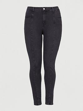 Calvin Klein Jeans   High Rise Skinny Ankle