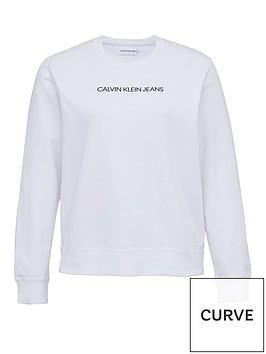 calvin-klein-jeans-plus-institutional-logo-sweat