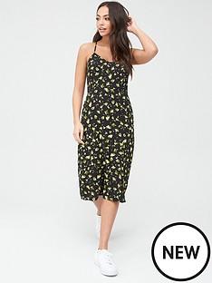 calvin-klein-jeans-floral-cross-back-slip-dress-printed