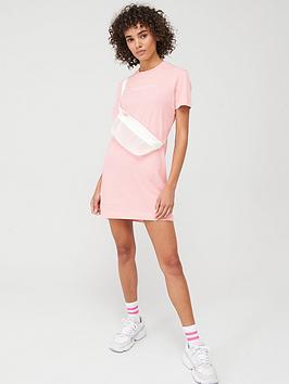 Calvin Klein Jeans Calvin Klein Jeans Institutional T-Shirt Dress - Pink Picture