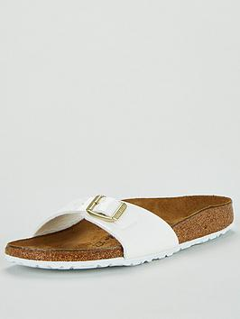 Birkenstock Birkenstock Madrid Narrow Fit Flat Sandal - White Picture