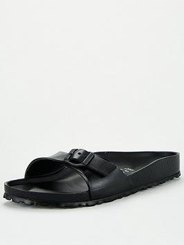 Birkenstock Birkenstock Madrid Eva Narrow Fit Flat Sandal - Black Picture