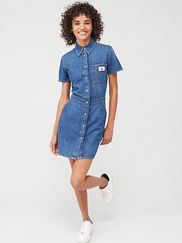 calvin-klein-jeans-modern-shirt-dress-light-blue