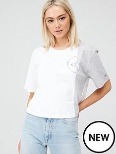 calvin-klein-jeans-round-logo-blocked-t-shirt-grey-marl