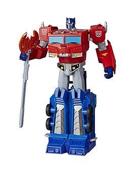 transformers-cyberverse-ultimate-optimus-prime-figure