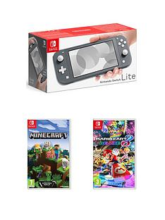 nintendo-switch-lite-console-with-minecraft-amp-mario-kart-8