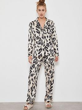 Mint Velvet Mint Velvet Lily Print Pyjama Bottoms - Multi Picture