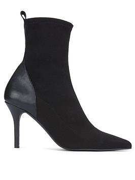 Mint Velvet Mint Velvet Sian Sock Boots - Black Picture