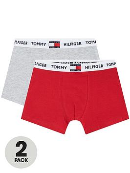 tommy-hilfiger-boys-2-pack-logo-trunks-redgrey
