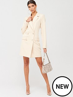 missguided-missguided-oversized-blazer-dress-nude
