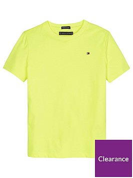 tommy-hilfiger-boys-essential-flag-t-shirt-yellow