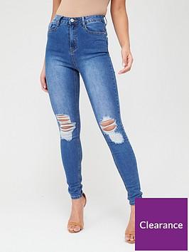 missguided-missguided-sinner-distressed-knee-high-waist-skinny-jeans-light-blue