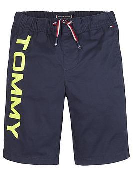 tommy-hilfiger-boys-sport-logo-jog-shorts-navy