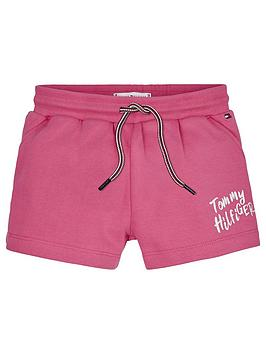 Tommy Hilfiger Tommy Hilfiger Girls Graphic Jersey Lounge Short Picture