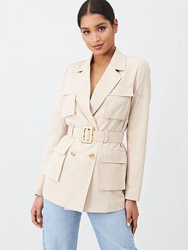missguided-missguided-mock-tortoiseshell-belted-utility-jacket-sand