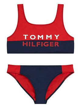 tommy-hilfiger-girls-logo-bikini-set-navyred
