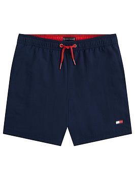 Tommy Hilfiger Tommy Hilfiger Boys Flag Drawstring Swim Shorts - Navy Picture