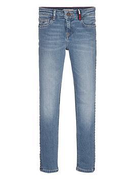 Tommy Hilfiger Tommy Hilfiger Girls Nora Skinny Jeans - Light Blue Picture