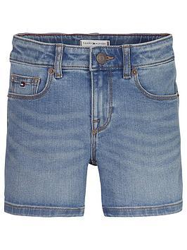 Tommy Hilfiger Tommy Hilfiger Girls Nora Denim Shorts - Light Blue Picture