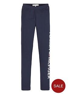 tommy-hilfiger-girls-essential-logo-leggings-navy