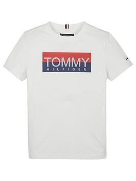 tommy-hilfiger-boys-reflective-logo-short-sleeve-t-shirt-white