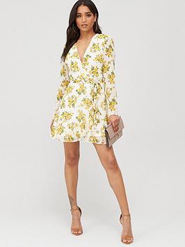 missguided-missguided-ruffle-hem-wrap-tea-dress-floral