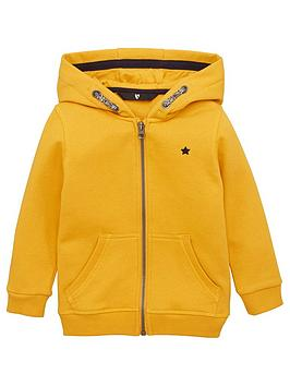 V by Very V By Very Boys Essential Zip Through Hoodie - Yellow Picture