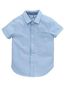 V by Very V By Very Younger Boys Oxford Shirt - Blue Picture