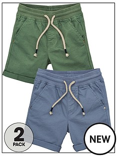 v-by-very-boys-2-pack-woven-shorts-bluegreen