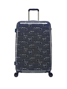 radley-dog-stripe-large-4-wheel-suitcase-ink
