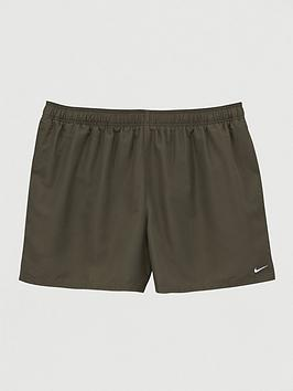 Nike Nike Plus Size Swim 5 Inch Solid Lap Swim Shorts - Olive Picture