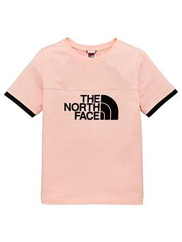 The North Face The North Face Girls Rafiki T-Shirt - Pink Picture