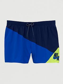 Nike Nike Swim Plus Size 5 Inch Logo Jackknife Swim Shorts -  ... Picture