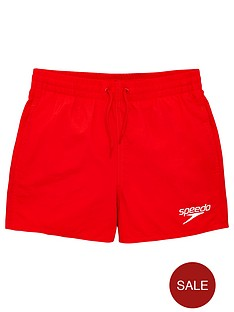speedo-boys-essentials-13-inch-watershort-red
