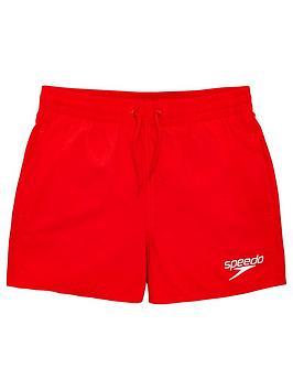 Speedo Speedo Boys Essentials 13 Inch Watershort - Red Picture