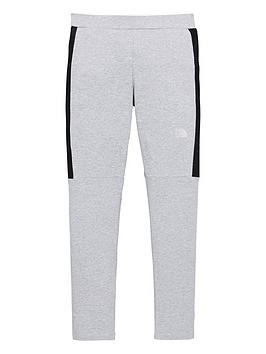 The North Face The North Face Girls Mesh Detail Hybrid Leggings - Grey  ... Picture