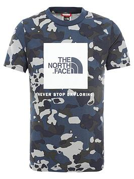 The North Face The North Face Boy'S Box T-Shirt Picture