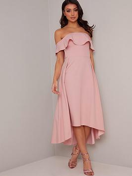 chi chi london Chi Chi London Wanda Dress - Mink Picture
