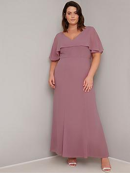 Chi Chi London Curve Chi Chi London Curve Albanie Dress - Pink Picture