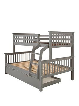 Very Novara Trio Bunk Bed Frame - Excludes Trundle Picture
