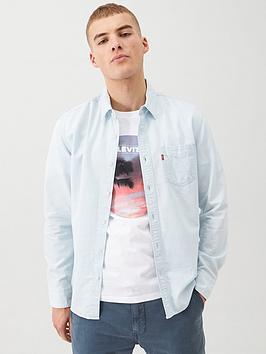 Levi's Levi'S Sunset One Pocket Slim Denim Shirt - Light Wash Picture