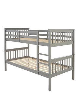 Very Novara Bunk Bed - Grey Picture