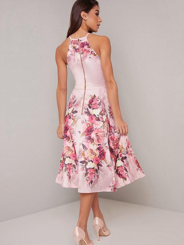 Chi Chi London Raeane Dress Mink Littlewoods Com