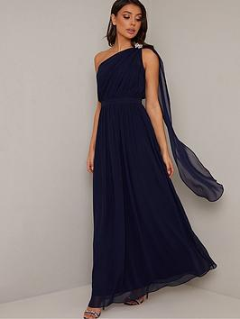chi chi london Chi Chi London Petrina Dress - Navy Picture