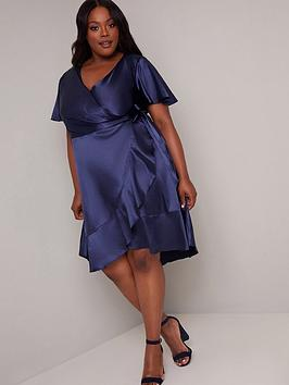 Chi Chi London Curve Chi Chi London Curve Gillie Dress - Navy Picture
