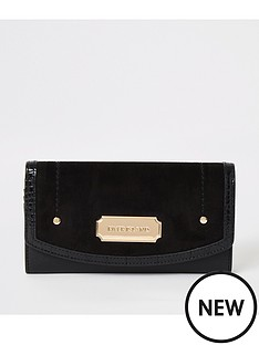 river-island-foldout-purse-black