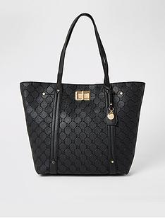 river-island-river-island-lock-detail-shopper-bag-black