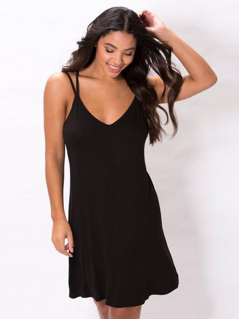 pour-moi-sofa-love-double-strap-chemise-black